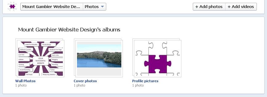 Navigating Facebook page image
