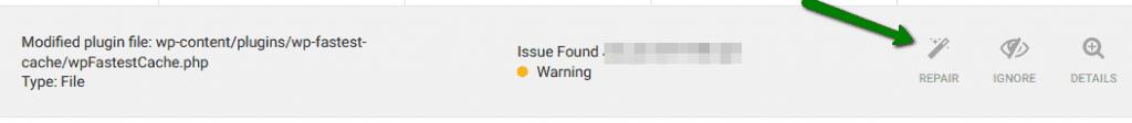 FAQ wp fastest cache Wordfence repair