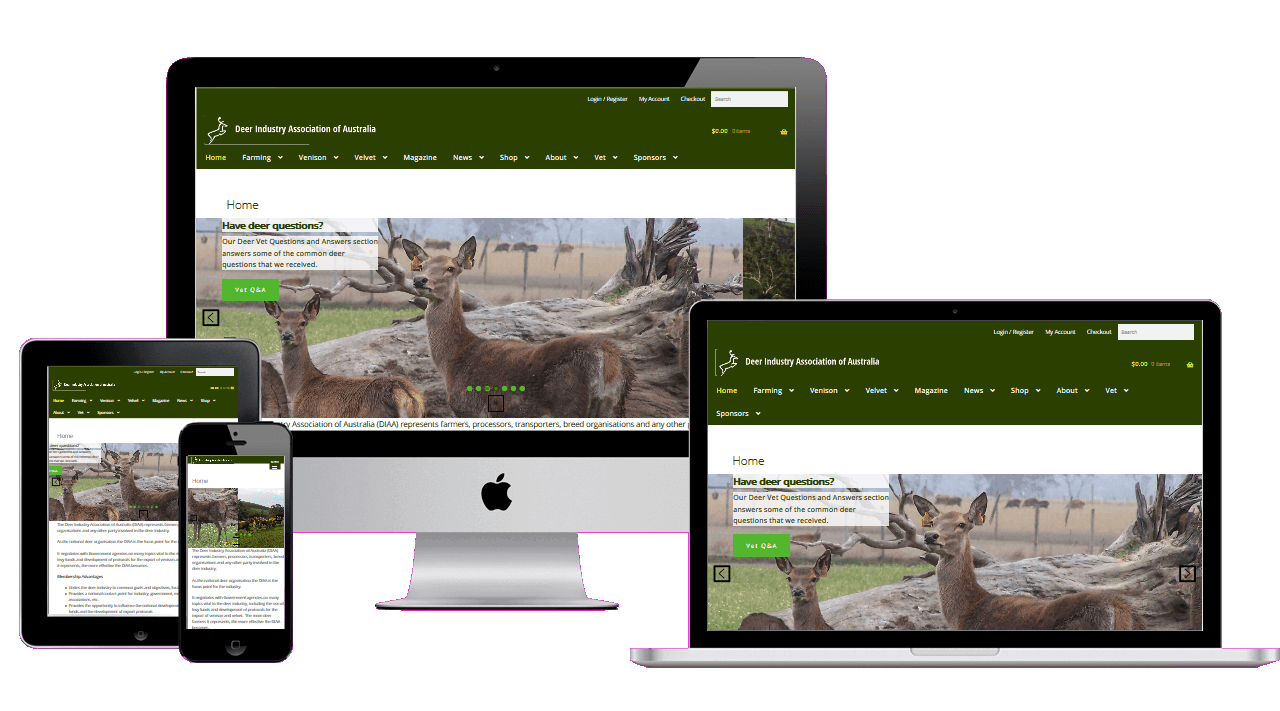 Deer Farming after Migration to WordPress and Ecommerce