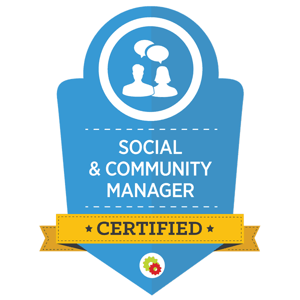 Digital Marketer-SCM-social-and-community-badge