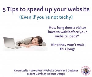 5 tips to speed up your wordpress website