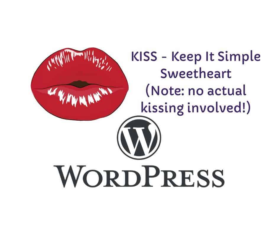 KISS-WordPress advice and strategy product