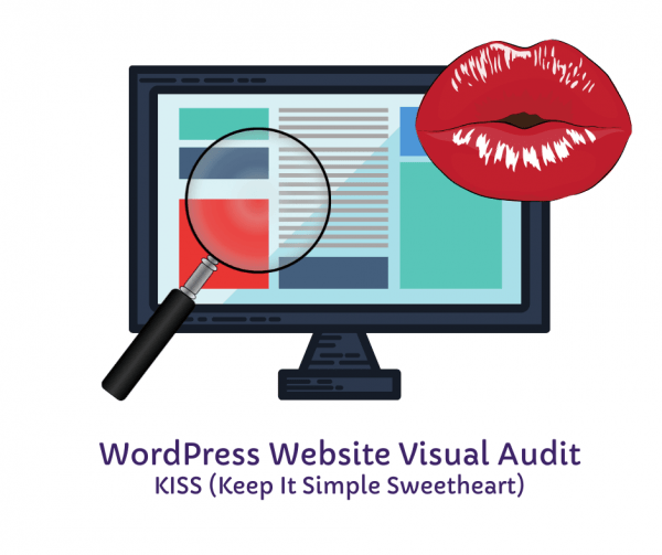 WordPress Website Visual Audit