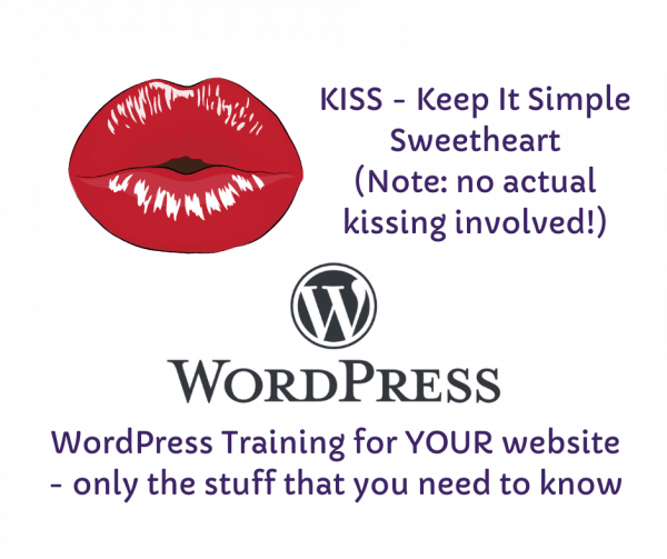 personalised WordPress training