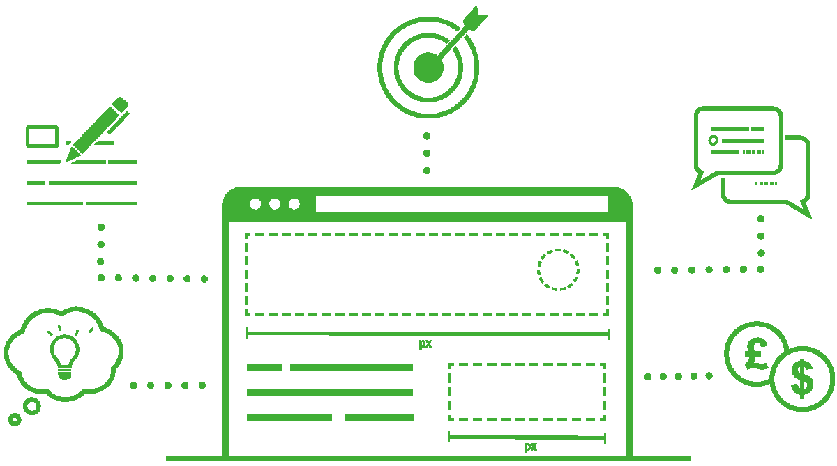 Website planner Cover-green