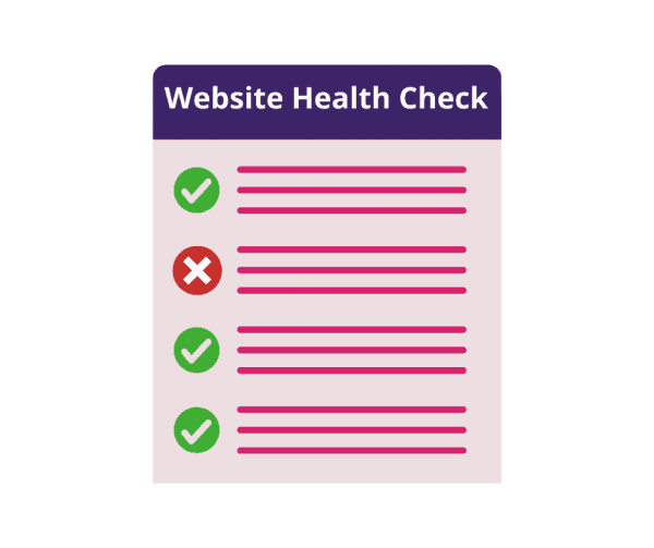 wordpress website health check list